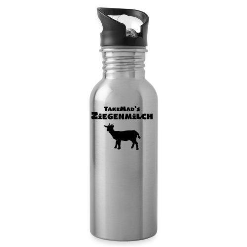 Ziegenmilch Beschriftung - Trinkflasche