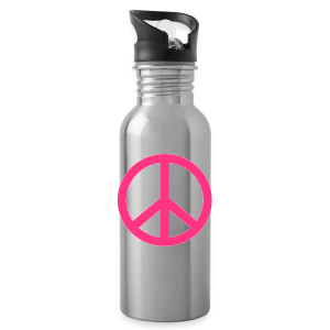 Peace, Love and Happiness - Drinkfles