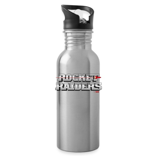 patame Rocket Raiders Logo - Trinkflasche