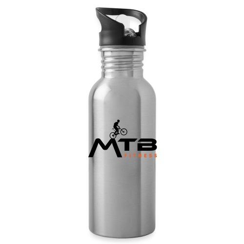 Subtle MTB Fitness - Black Logo - Water Bottle