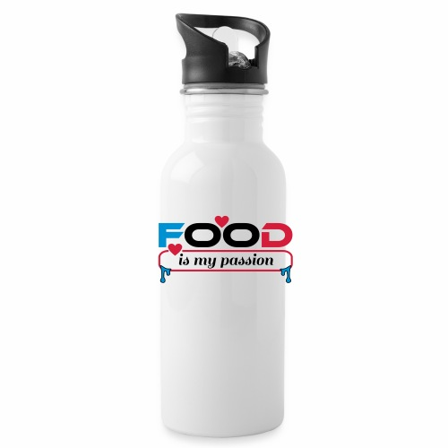 Food is my passion - Trinkflasche