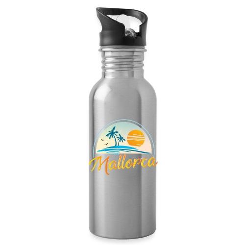Mallorca - die goldene Insel der Lebensqualität - Trinkflasche