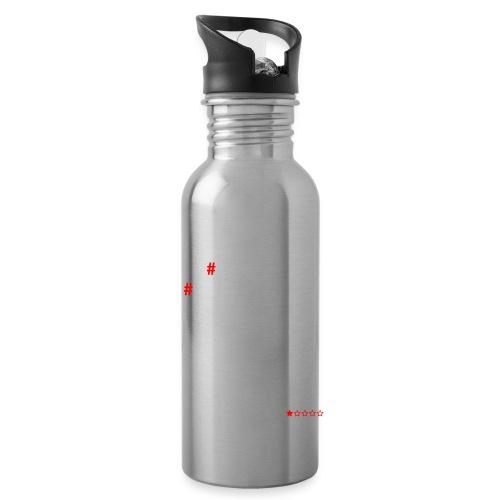 Hashtag - Drikkeflaske