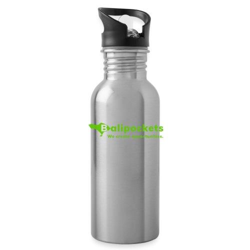 Balipockets Logo - Trinkflasche