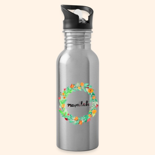 Ein Kranz aus Masallah - Trinkflasche