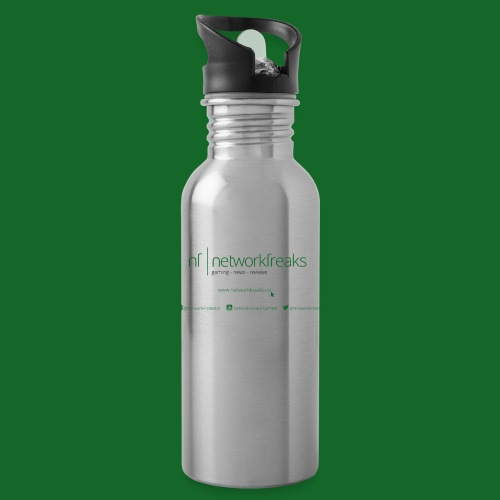 Kaffeetasse NetworkFreaks Grüne Aufschrift - Trinkflasche