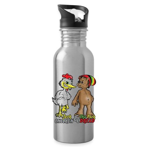 Jerk chickenPork Dread - Water Bottle