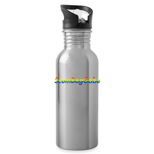 ScumBagGabe Multi Logo XL - Water bottle with straw
