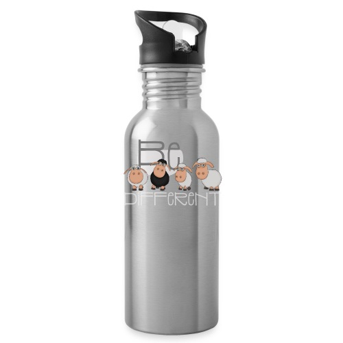 Coole Be different Schafe Gang - Gute Laune Schaf - Trinkflasche
