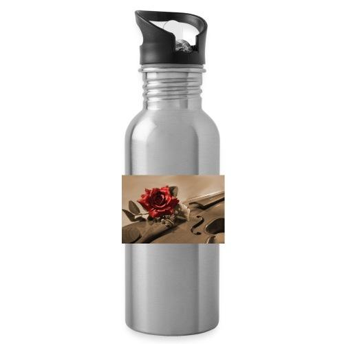 geige sepia - Trinkflasche