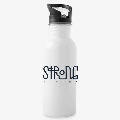 strong vienna logo dunkel trans png - Water Bottle