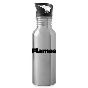 Plump Flames Logo - Water Bottle