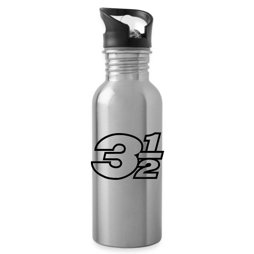 Three and a Half Logo - Water Bottle