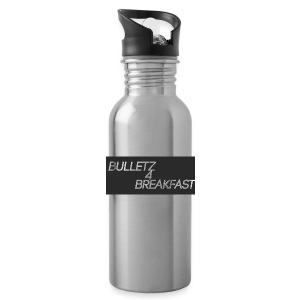 bulletz4breakfast_t-shirt - Water Bottle