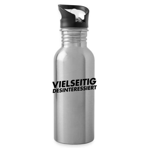 vielseitig desinteressiert - Trinkflasche