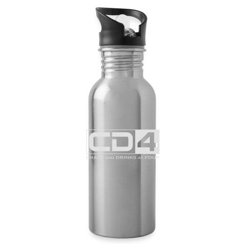 cd4 logo dikker kader bold font - Drinkfles