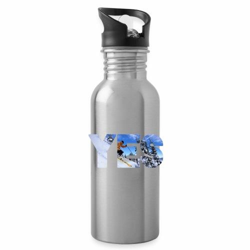 Wintersport - Trinkflasche