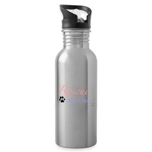 Rescue don't buy - Water Bottle