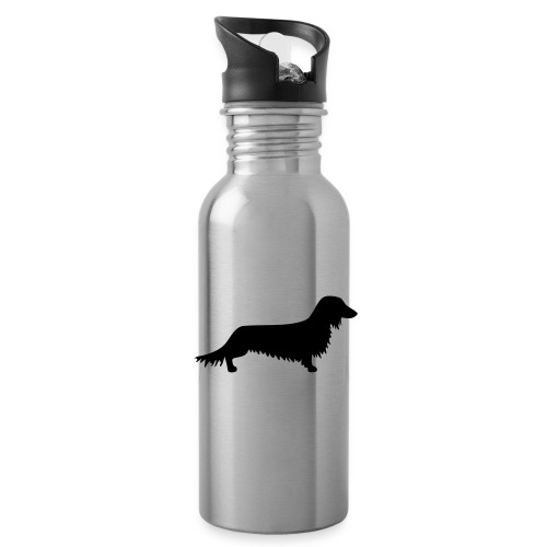 Langhaardackel - Trinkflasche