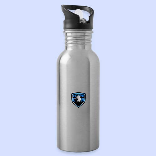 HypeCw logo (Silver) - Water Bottle