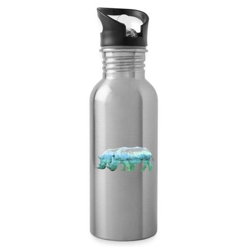 RHINOS, DIE NASHÖRNER IN DEN ALPEN - Trinkflasche