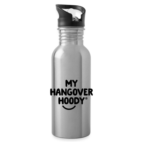 The Original My Hangover Hoody® - Water bottle with straw