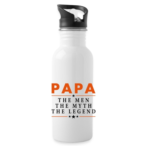 PAPA THE LEGEND - Water Bottle