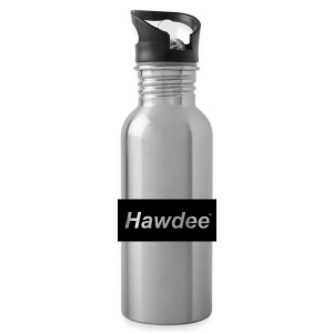 hawdee_logo_original - Water Bottle