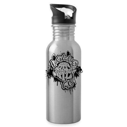 MC FOLLO - Drikkeflaske med integrert sugerør