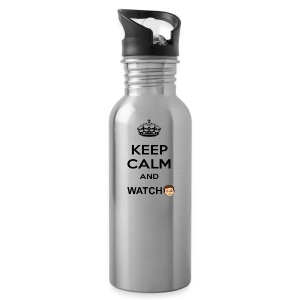 Keep Calm And Watch Anthonyos33 - Water Bottle