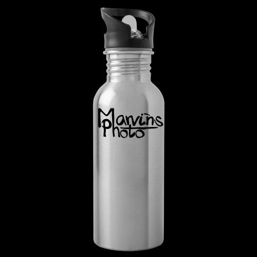 Marvins Photo - Trinkflasche mit integriertem Trinkhalm