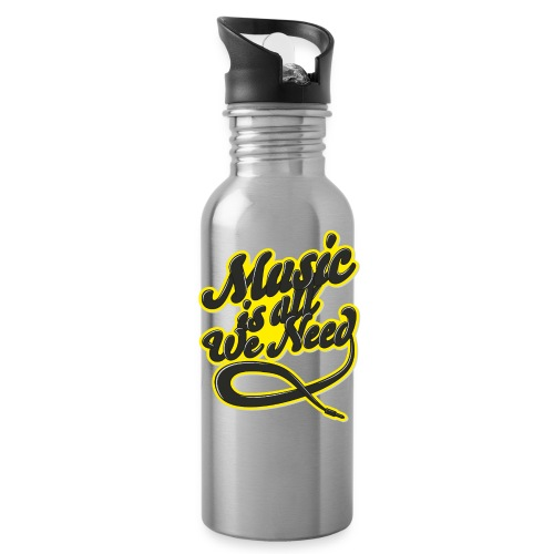 Music Is All We Need - Water Bottle