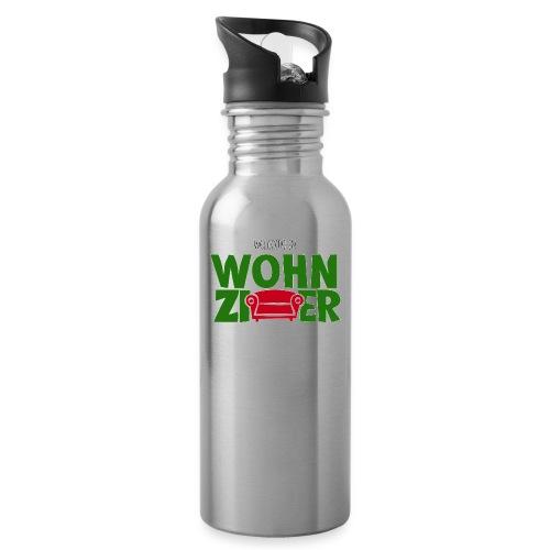 Wohnzimmer-Logo - Trinkflasche