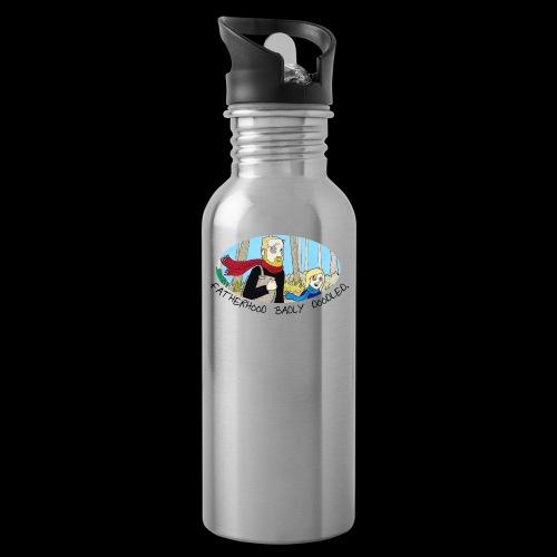 Fatherhood Badly Doodled - Water Bottle