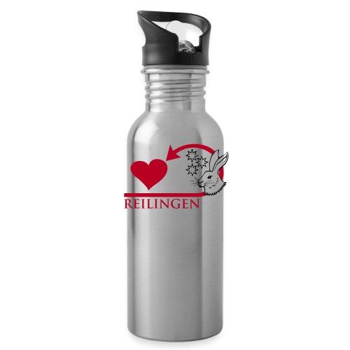 Reilingen zeigt Herz - Trinkflasche