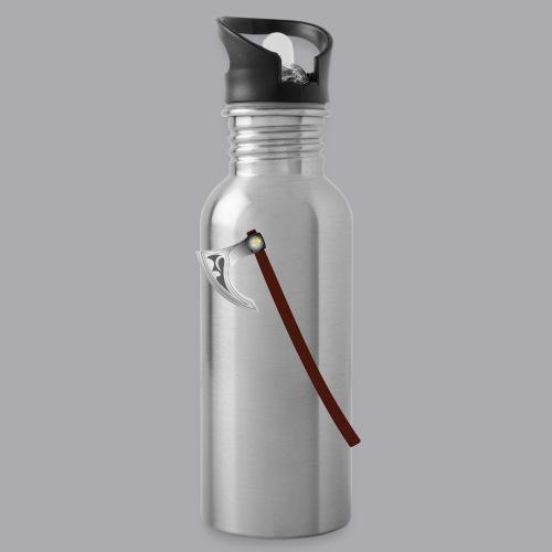 Wikinger Beil - Trinkflasche mit integriertem Trinkhalm
