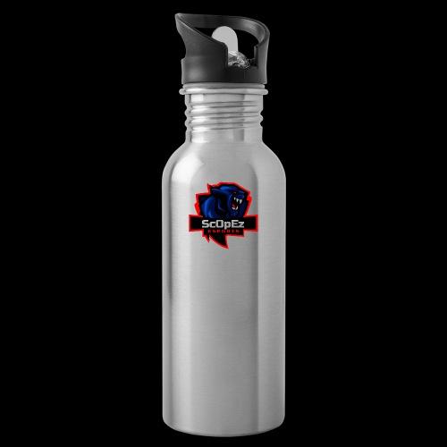 ScOpeZ Koeffizient - Trinkflasche mit integriertem Trinkhalm