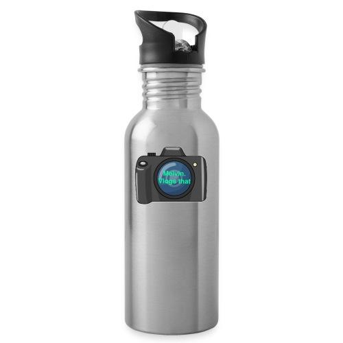 Melvin vlogs that merch - Water Bottle
