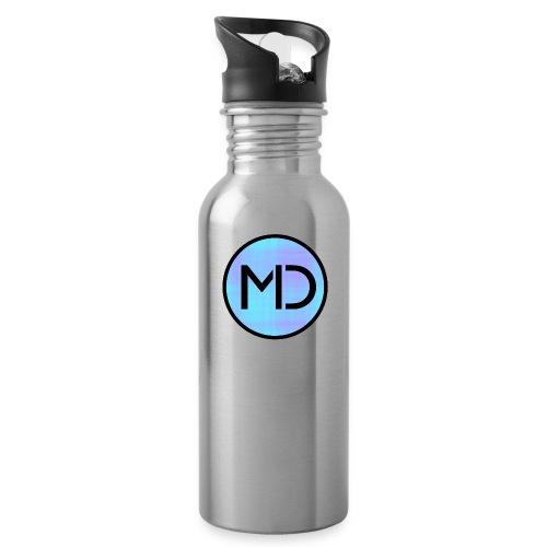 MD Blue Fibre Trans - Water Bottle