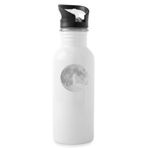 rabbit_wolf-png - Water Bottle