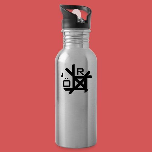 Nörthstat Group™ TecH | iCon - WHT.Knapsack - Water Bottle