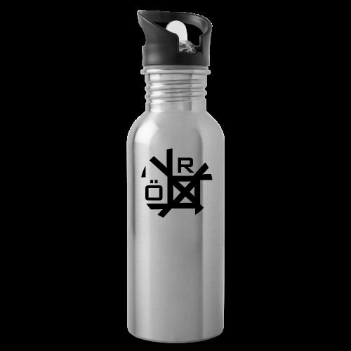 Nörthstat Group™ TecH   iCon - WHT.Knapsack - Water Bottle