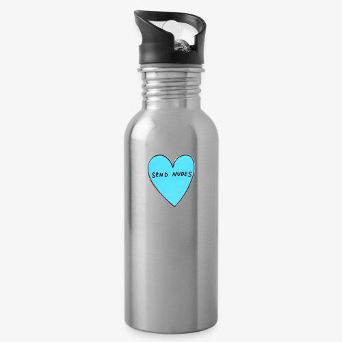 send nudes - Water Bottle