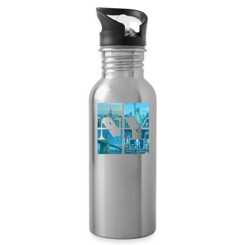 NEW YORK BLUE - Trinkflasche