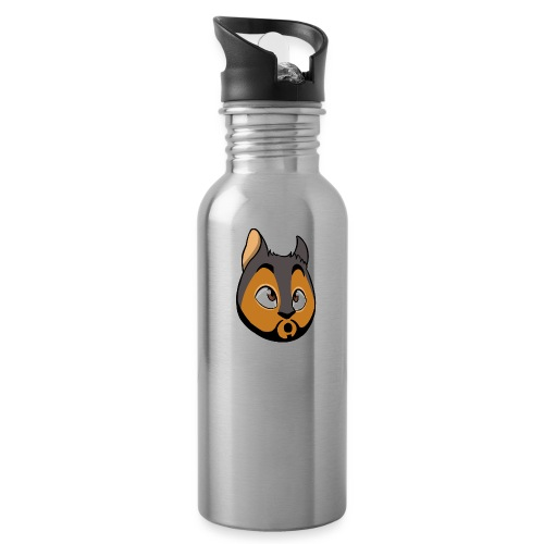 Squirrel face - Water Bottle