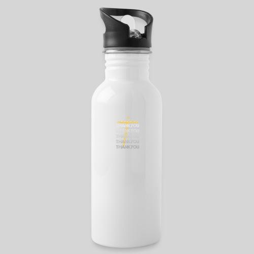 DANKE Jesus, das Geschenk für Christen THANKYOU - Trinkflasche