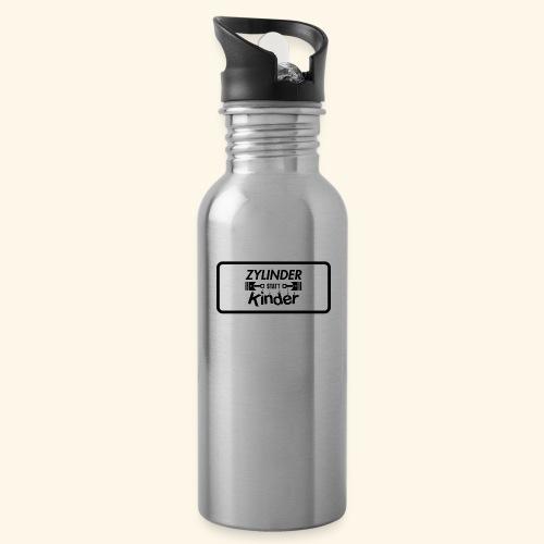 Zylinder Statt Kinder - Trinkflasche