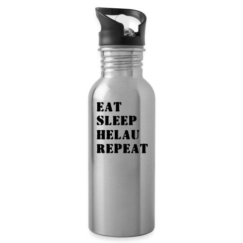 Eat Sleep Repeat - Helau VECTOR - Trinkflasche