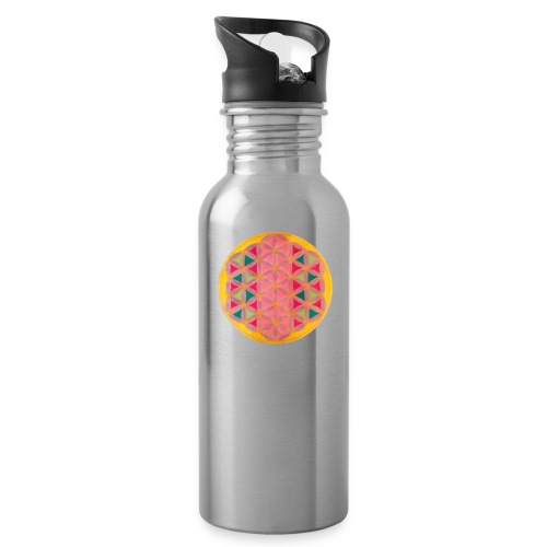 Blume des Lebens - Trinkflasche