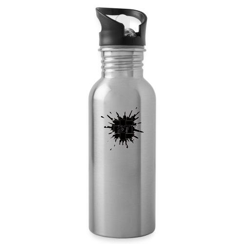 Blacktuber Splash Logo - Drinkfles